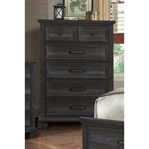 Upney 5 Drawer Chest by Gracie Oaks