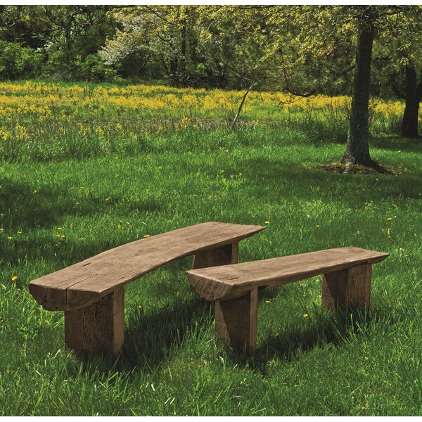 Beauvais Large Bois Bench by Loon Peak