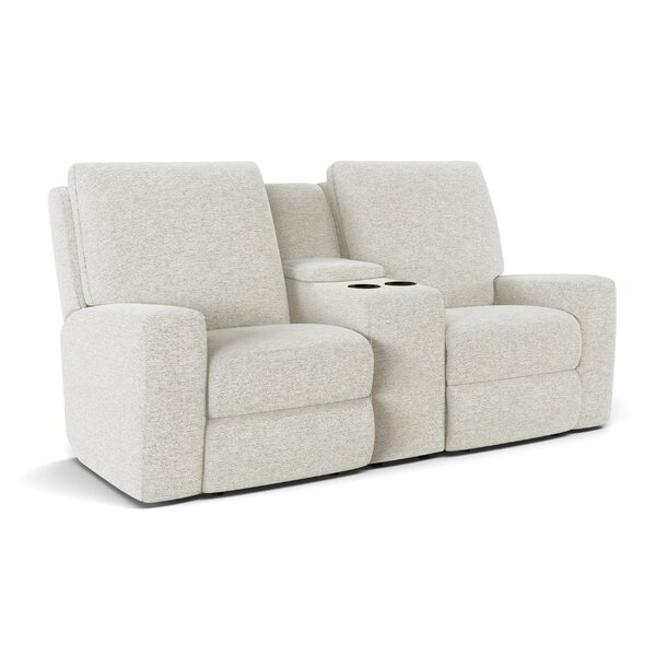 Alliser Console Reclining Loveseat By Wayfair Custom Upholstery™