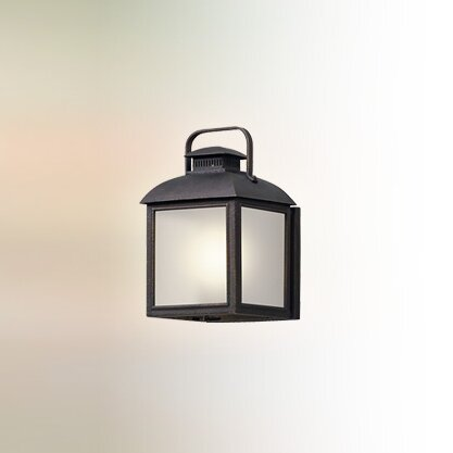 Koffi 1-Light LED Outdoor Flush Mount by Gracie Oaks