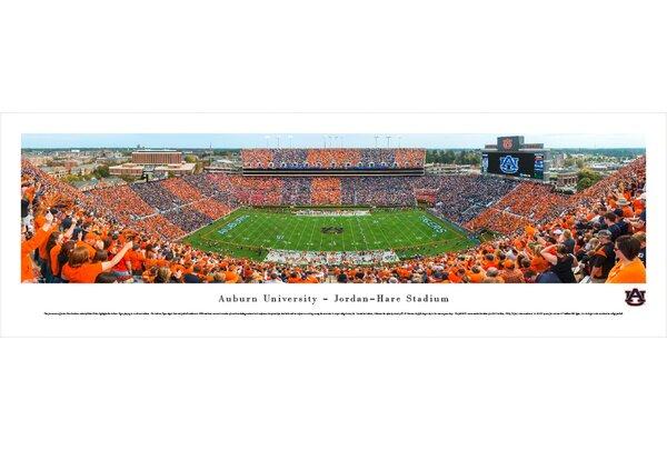NCAA Auburn University Football - Stripe The Stadium by Christopher Gjevre Photographic Print by Blakeway Worldwide Panoramas, Inc
