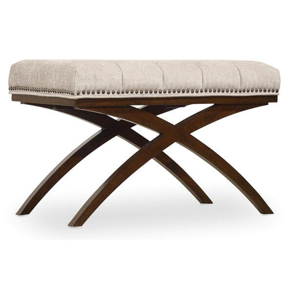 Hooker Furniture Skyline Upholstered Bench by Hooker Furniture
