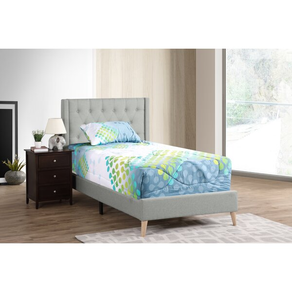 Edmond Upholstered Standard Bed by Wrought Studio