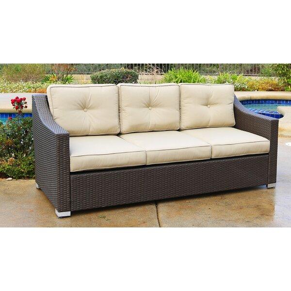 Suai Patio Sofa with Cushions by Brayden Studio