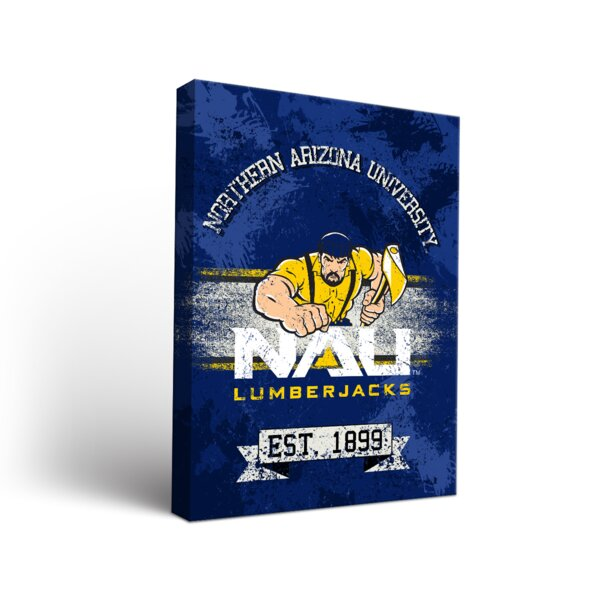 NCAA Banner Graphic Art on Wrapped Canvas by Victory Tailgate