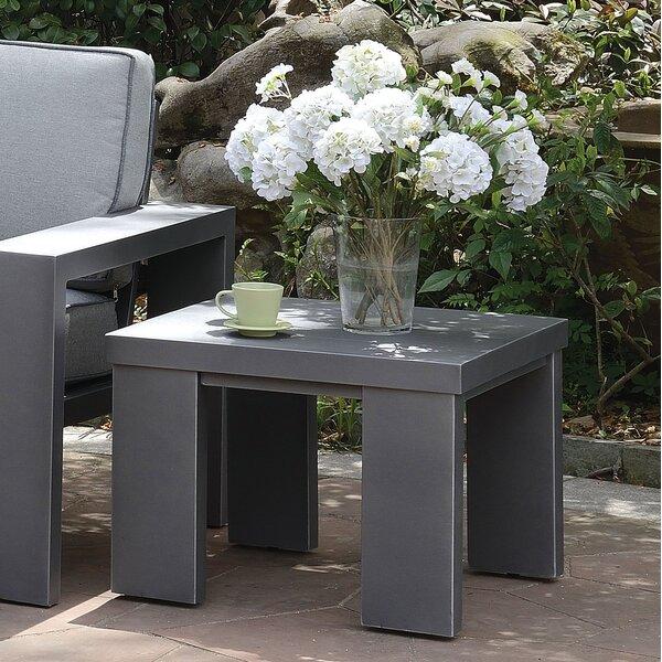 Sherrell Aluminum Side Table by Orren Ellis
