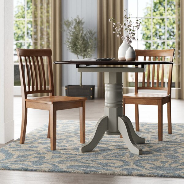 Alverson Solid Wood Dining Chair (Set of 2) by August Grove