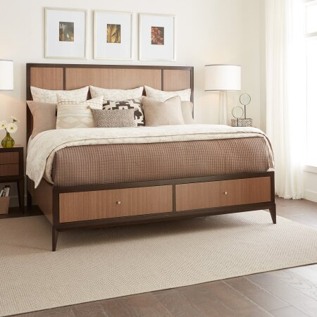 Coletta Storage Platform Bed by World Menagerie