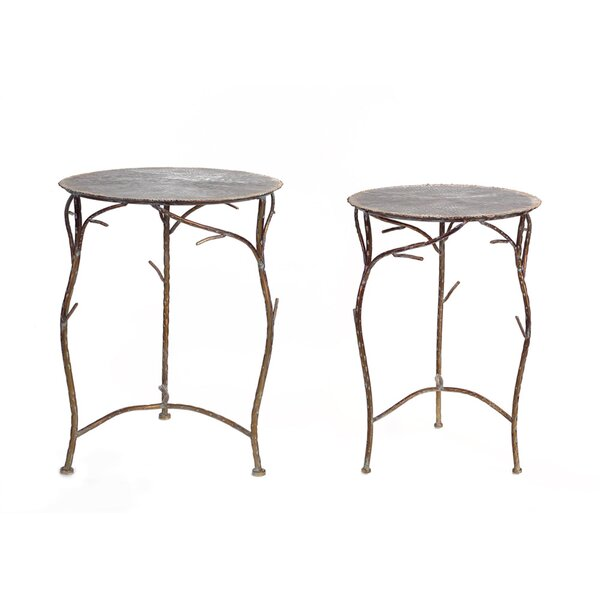 2 Piece Nesting Tables By Melrose International