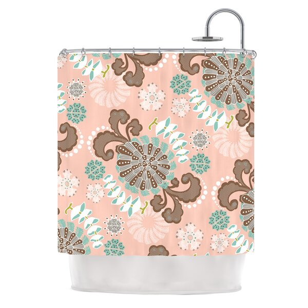 Sea Carnival by Very Sarie Shower Curtain by East Urban Home