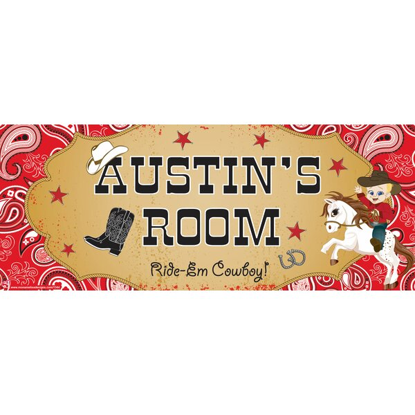 Cowboy Boy Name Wall Decal by Mona Melisa Designs