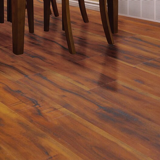 Timeless Revolution 6.5 x 48 x 12mm Canadian Maple Laminate Flooring in Grand Pebble by All American Hardwood