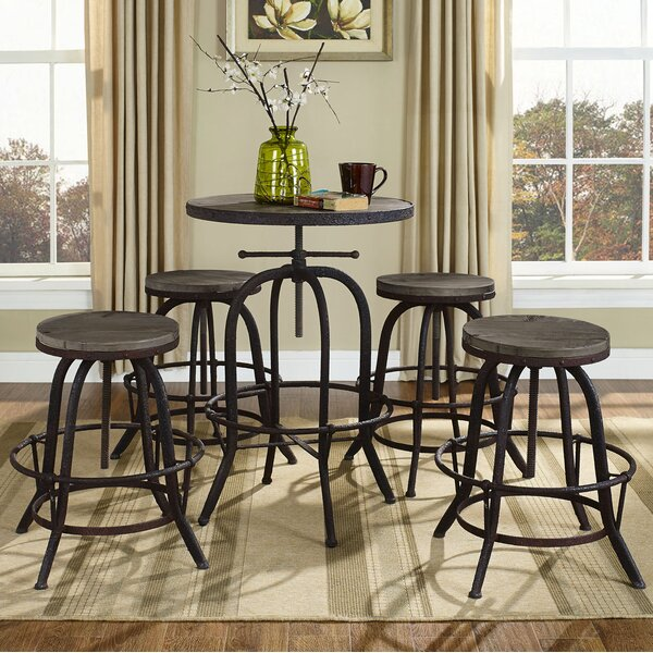 Gather 5 Piece Dining Set By Modway Great Reviews