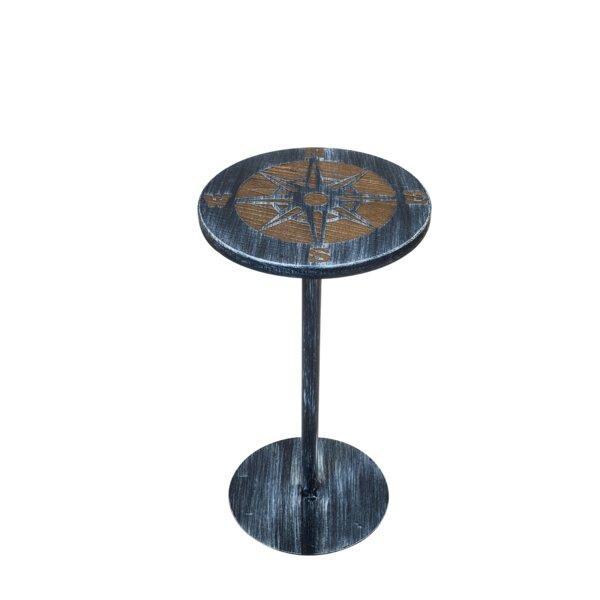 Mystras Pedestal End Table by Breakwater Bay Breakwater Bay