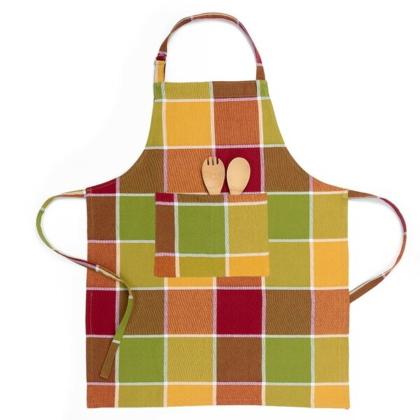 Autumn Chef Apron by Linen Tablecloth