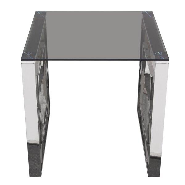 Heiser End Table by Diamond Sofa