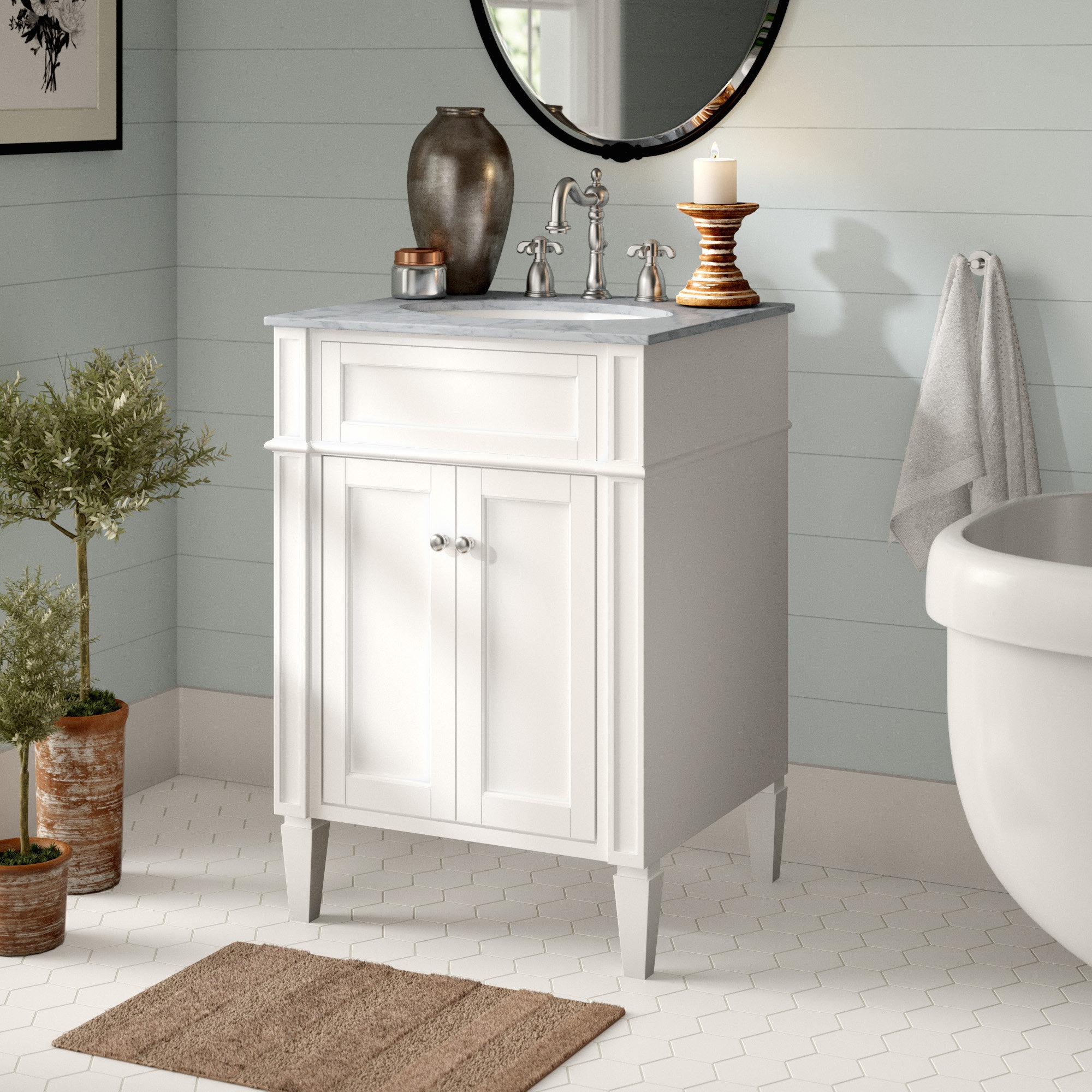 Eleanor 24 Single Bathroom Vanity Set