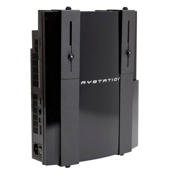 Medium Extra Wide Original Wall Mount PlayStation 3 For Plasma TV By HIDEit Mounts