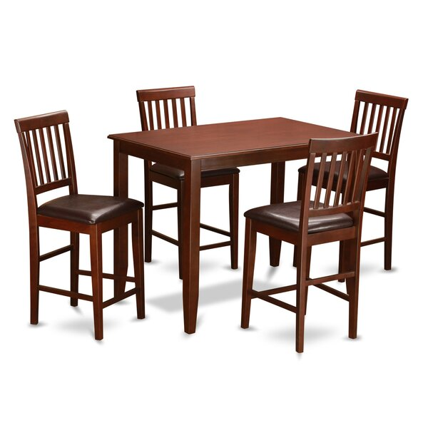 5 Piece Dining Set By Wooden Importers Best Choices