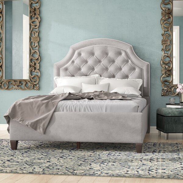 Riviera Upholstered Standard Bed By Rosdorf Park
