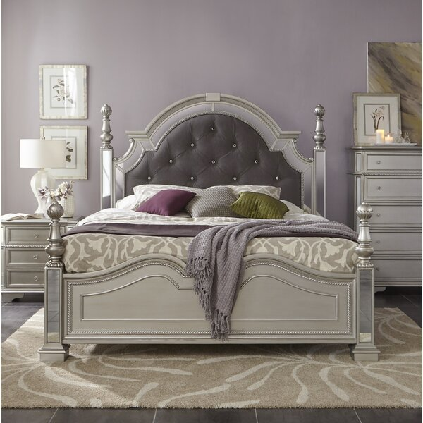 Verne Upholstered Panel Bed by House of Hampton