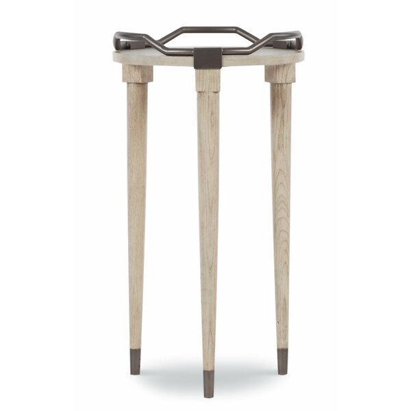 Serenity Solid Wood 3 Leg End Table By Fine Furniture Design