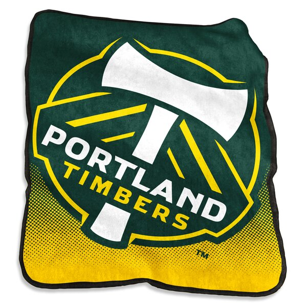 Portland Timbers Raschel Throw by Logo Brands