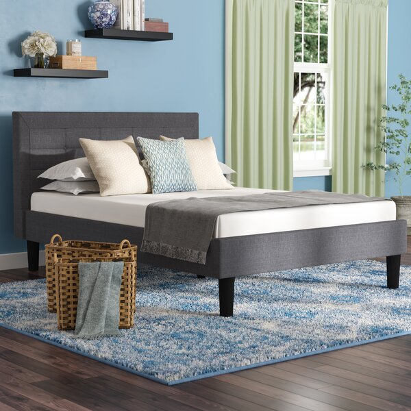Chosposi Upholstered Platform Bed by Ebern Designs