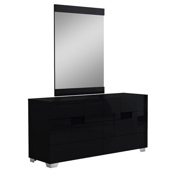 Jayda 6 Drawer Double Dresser by Orren Ellis
