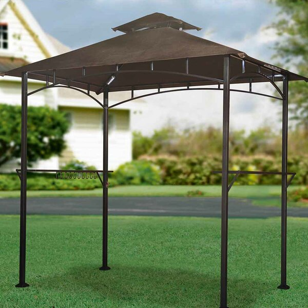 Replacement Canopy for LED Lighted Grill Gazebo by Sunjoy