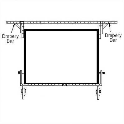 Drapery Bars for Dress Kit by Draper