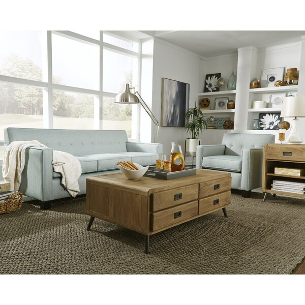 Guillermo 2 Piece Living Room Set by Alcott Hill