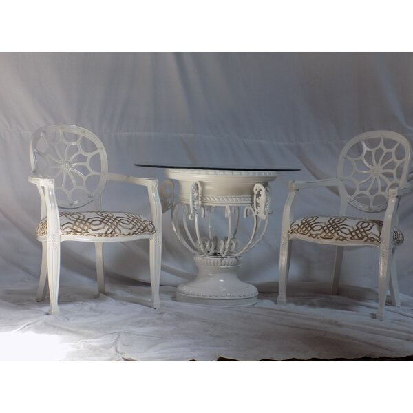 Spider 3 Piece Dining Set by Benetti's Italia