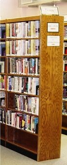 Double Face Standard Bookcase by W.C. Heller W.C. Heller