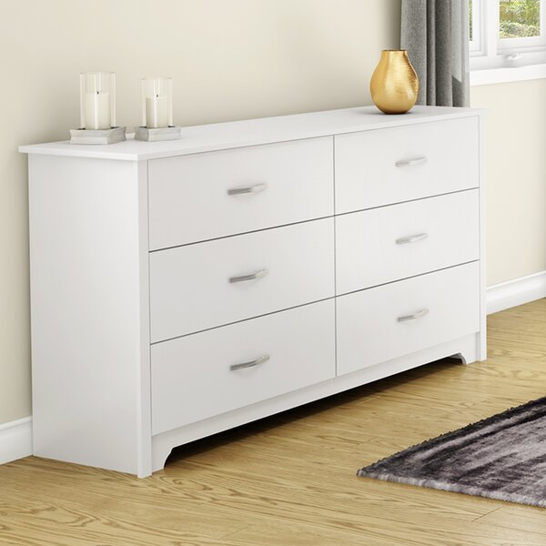 Fusion 6 Drawer Double Dresser by South Shore