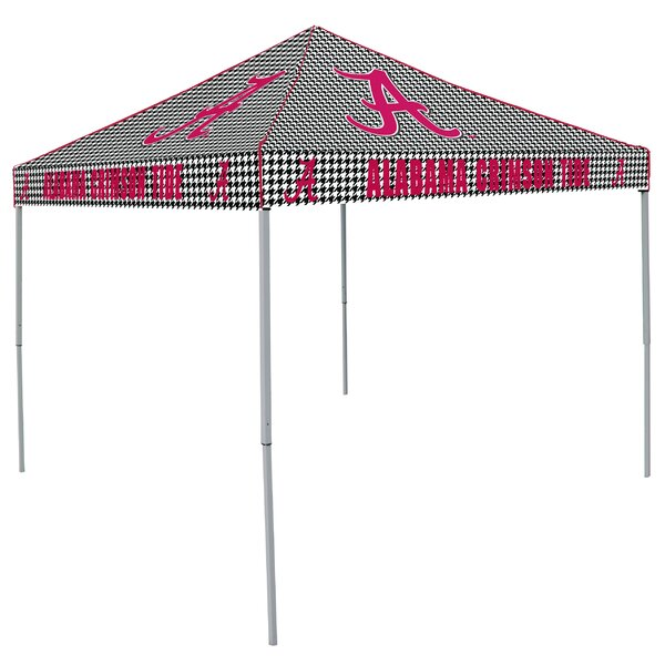 NCAA Alabama 9 Ft. W x 9 Ft. D Steel Pop-Up Canopy by Logo Brands
