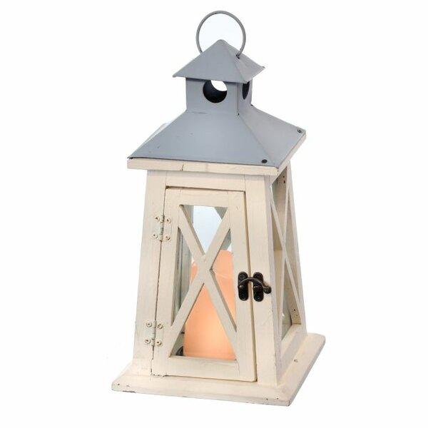 Lighthouse Wood and Metal Lantern by Regency International