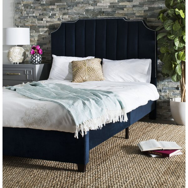 Musgrave Upholstered Sleigh Bed by House of Hampton