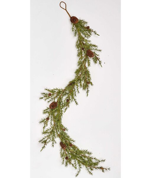 68 Pine and Cone Garland by The Holiday Aisle