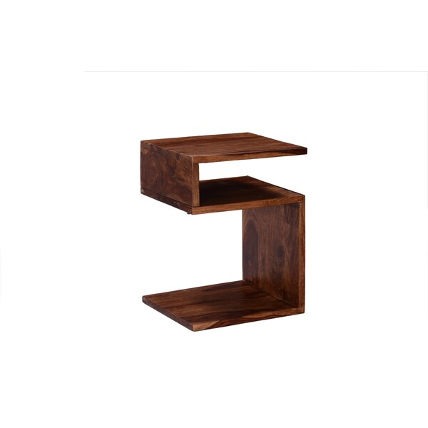 Cular End Table by Union Rustic