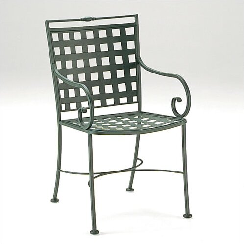 Sheffield Patio Dining Chair with Optional Cushion by Woodard