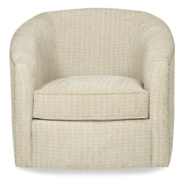 Bajaria Swivel Barrel Chair by Latitude Run