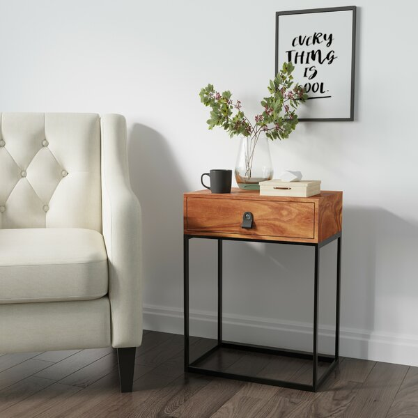 Langford End Table by 17 Stories