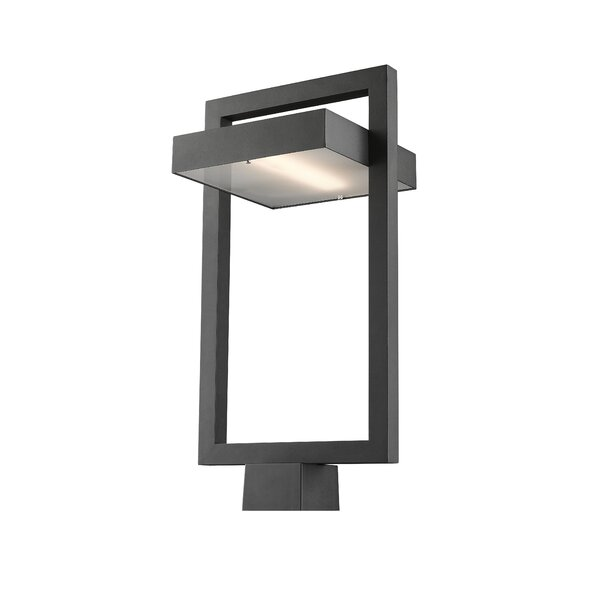 Fortune Outdoor 1-Light LED Lantern Head by Orren Ellis