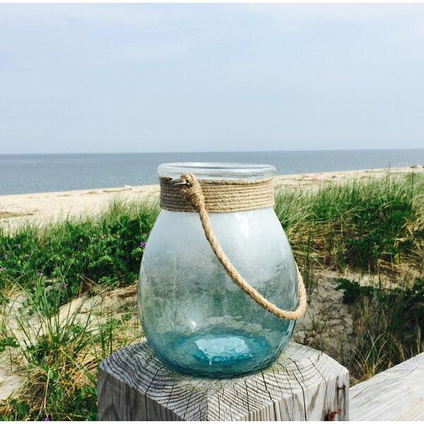 Beach Glass Lantern by Whole House Worlds