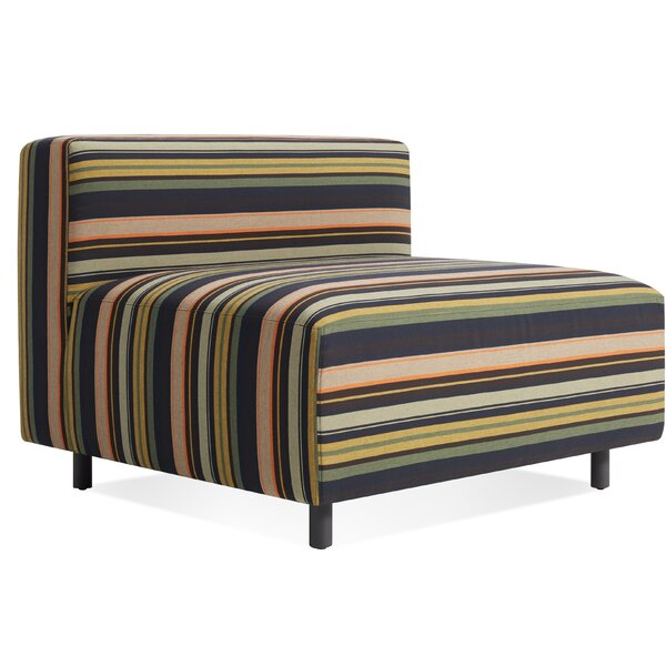 9 Yard Outdoor Armless Lounge Chair by Blu Dot