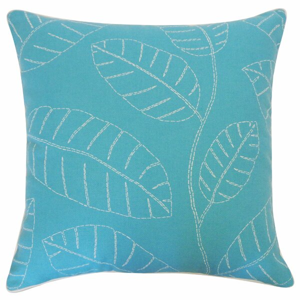 Hojas Outdoor Throw Pillow by Jiti