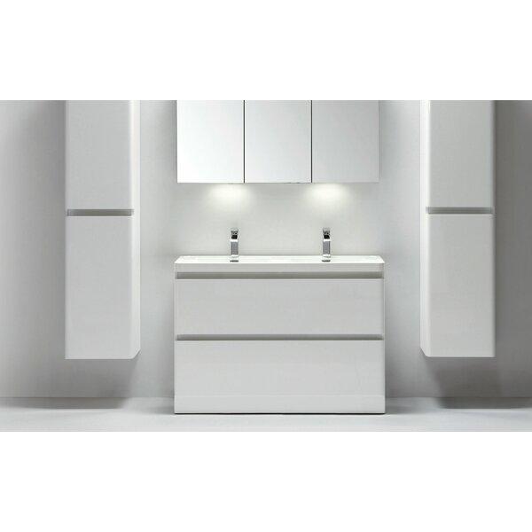 Blaire 48 Double Bathroom Vanity Set by Orren Ellis