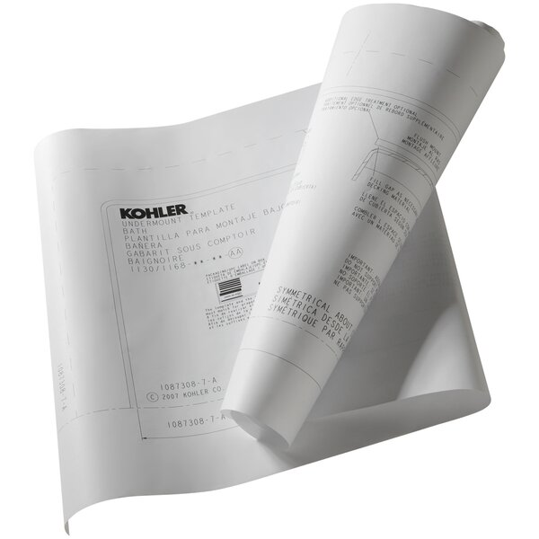 Under-Mount Install Kit for 1848/1849 by Kohler