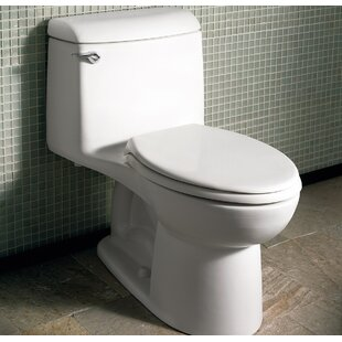 Top Reviews Champion 4 1.6 GPF Elongated One-Piece Toilet (Seat Included) ByAmerican Standard